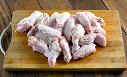 Raw meaty bones chicken