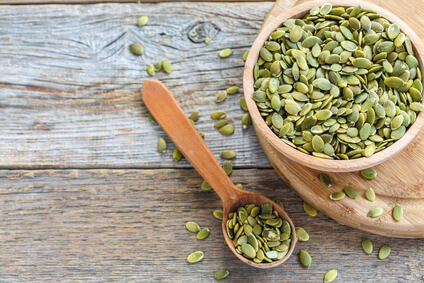 Raw pumpkin seeds natural deworming for puppies